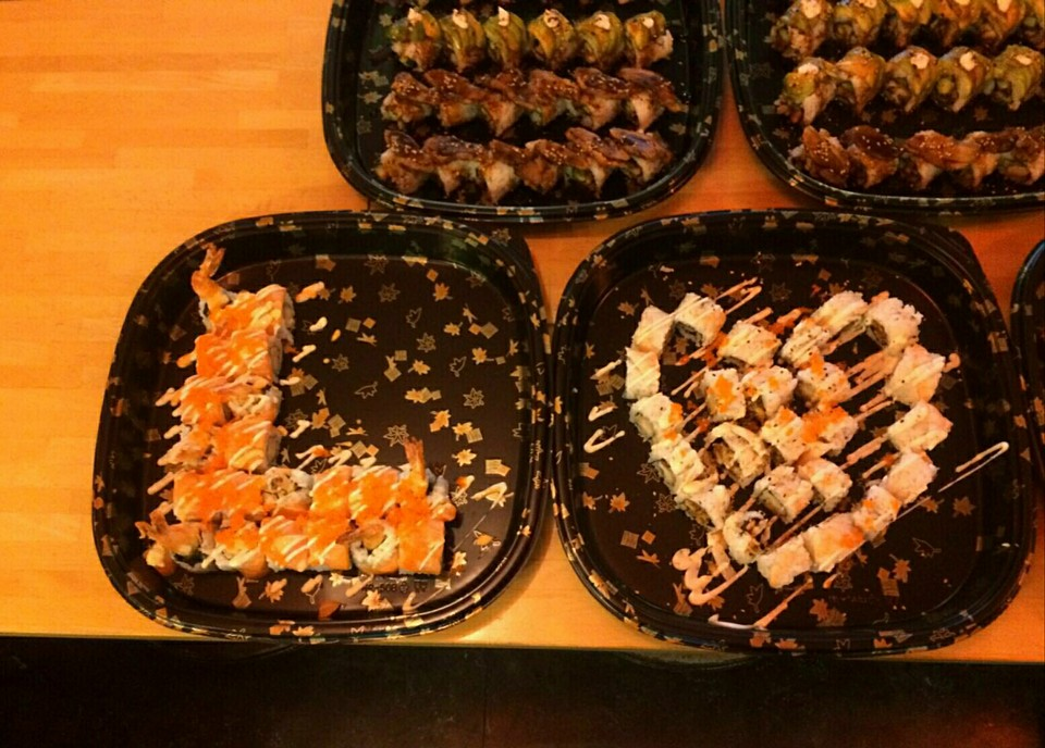 Event Sushi Sets (Should have used better camera) 2